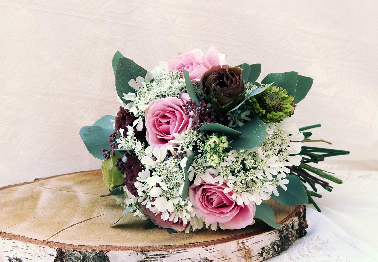 Wedding Bouquet Table